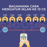 Bagaimana Cara Mengatur Iklan ke 10 CS?