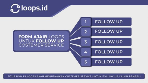 Form Ajaib Loops untuk Follow Up Costumer Service