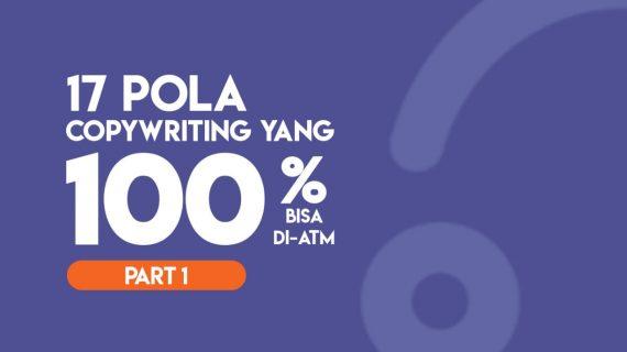 17 POLA COPYWRITING YANG 100% BISA DI-ATM